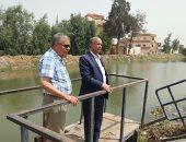 رئيس مصلحة الرى فى جولة بمحافظة بورسعيد