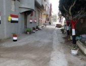 أهالى شارع بدمياط يطلقون مبادرة لتجميل الشارع