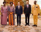 الرئيس السيسى وريبيكا كاداجا رئيسة البرلمان الأوغندى
