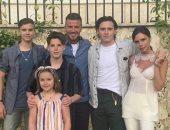 عائلة ديفيد بيكهام