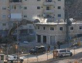 جرافات الاحتلال تهدم منازل الفلسطينيين
