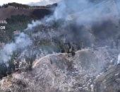 حرائق الغابات فى اسبانيا
