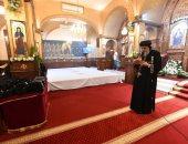 البابا تواضروس يتمم طقس رهبنة 24 أخت جديدة