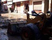 حالة شبكة الصرف بقرية شنشور