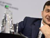 رئيس أوكرانيا فلاديمير زيلينسكى