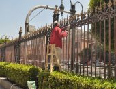 أعمال تطوير الموقع العام للمتحف المصرى بالتحرير