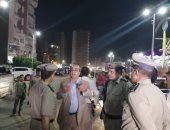 حملة ليلية لرفع الإشغالات بشوارع طنطا