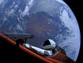 سيارة فى الفضاء