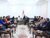 رئيس وزراء العراق ووزيرة الدفاع الألمانية