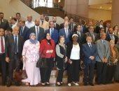 المشاركون فى الاجتماع الإقليمى الثانى لدول شمال أفريقيا