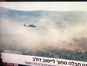 طائرات إسرائيلية تحلق فى رام الله