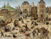 مذبحة سان بارتيليمى من من رسم فرانكويس دوبيس