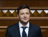 الرئيس الأوكرانى فولوديمير زيلنسكى