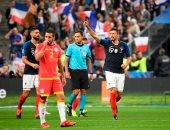 جانب من مباراة سابقة لمنتخب فرنسا