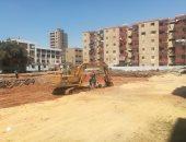 جانب من تطوير العشوائيات التابعة لمحافظة المنيا