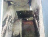 جدران إحدى الورش
