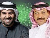 عبادي الجوهر  و حسين الجسمي
