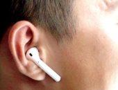 ارتداء سماعات الأذن اللاسلكية