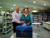 ليبرمان يصوت بالانتخابات
