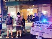 الشرطة الأمريكية أمام مبنى ترامب بلازا