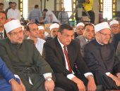 الدكتور محمد مختار جمعة وزير الأوقاف واللواء هشام آمنة محافظ البحيرة