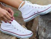 نصائح لتنظيف الأحذية المصنوعة من القماش-أرشيفية