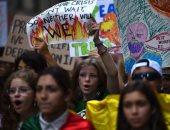 مظاهرات تغير المناخ