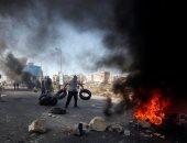 اشتباكات بين قوات الاحتلال ومتظاهرين فلسطينيين