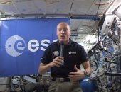 رائد الفضاء لوكا بارميتانو من مقره فى الفضاء