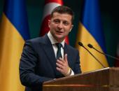 الرئيس الأوكرانى زيلينسكى