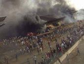 جانب من اعمال العنف فى كينيا