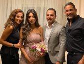 أمير كرارة يحتفل بخطوبة شقيقته