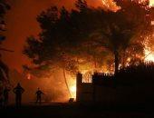 حريق لبنان