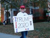 تظاهرات داعمة لدونالد ترامب