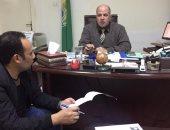 رئيس فرع جهاز تنمية المشروعات بالإسماعيلية والزميل السيد فلاح