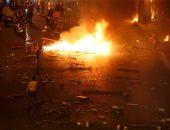 أعمال عنف فى لبنان.. والشرطة تتصدى بقنابل الغاز