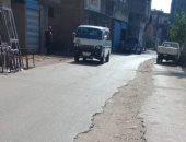 سوء حالة الشوارع بدمياط