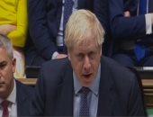 رئيس الوزراء البريطانى بوريس جونسون