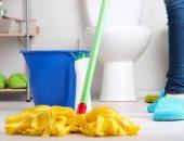 تنظيف أرضية الحمام