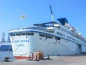 أول سفينة سياحية تصل الإسكندرية من قبرص