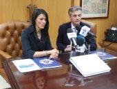 الدكتورة رانيا المشاط وزيرة السياحة والسفير البريطانى