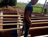 إقامة أسقف خشبية