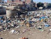 مياه الصرف الصحى والقمامة  تحاصر قرية بالعامرية