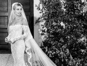 فستان زفاف هايلى بيبر