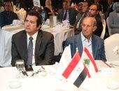 جانب من ندوة الجمعية المصرية اللبنانية لرجال الأعمال