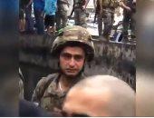 بكاء جندى لبناني