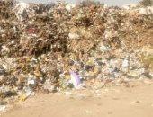 قمامة فى شارع تاج الدين بعين شمس