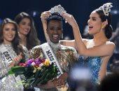 ملكة جنوب افريقيا تتوج بلقب ملكة جمال الكون