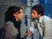 محمد عبدالواحد مع سيدة الشاشة فى فيلم أفواه وأرانب