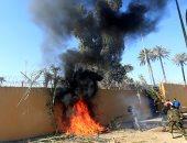محيط السفارة الأمريكية فى بغداد _ صورة أرشيفية